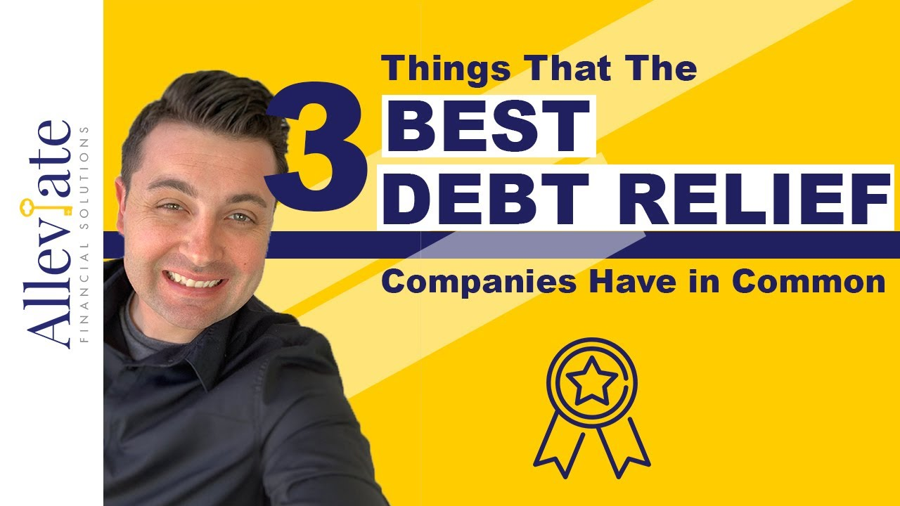 what are the best debt relief companies