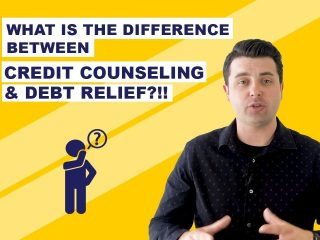 What is the difference between credit counseling and debt relief or Debt Settlement?