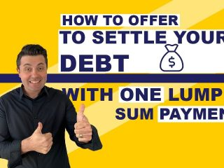How To Offer To Settle Debt With a Reduced Lump Sum Payment?