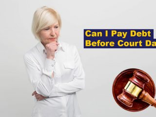Can I Pay Debt Before Court Date?