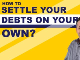How To Settle Your Debts On Your Own ?